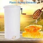 Lyrlody – Extracteur de miel pour 2 alvéoles – Extracteur de miel manuel pour débutant