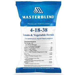 Masterblend 4–18–38Engrais tomates et légumes–Bulk 1, 5ou 11,3kilogram 25 Pounds