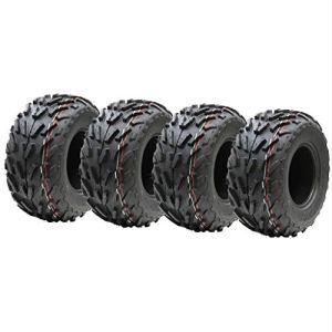 Parnells Quatre pneus 16×8.00-7 Quad, 16 x 8-7 ATV E marqués Route Pneu légale 7 Pouces