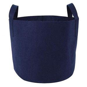Pots de poche Poche pour plantes Sac de culture de légumes Conteneur de pot léger non toxique et respectueux de l'environnement pour le jardinage intérieur(35cm in diameter)