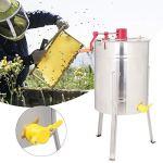 Redxiao Centrifugeuse de Miel de Puissance Forte, extracteur de Miel d'acier Inoxydable d'acier Inoxydable, extracteur Manuel de Miel pour l'extracteur de Miel d'apiculteurs de séparation à la