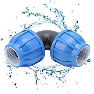 Redxiao Connecteur de Tuyau d'eau, raccord de connecteur de coude de raccord de Tuyau d'eau, Plastique PE Non scalable pour hôtel de Jardin de Cuisine
