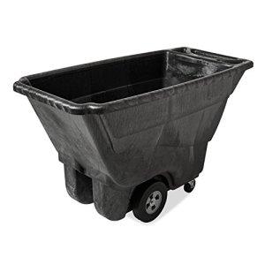 Rubbermaid Commercial Products FG9T1400BLA Chariot à Bascule en Mousse Structurée 385,55kg Noir