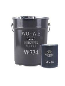 Scellant Epoxy W734 Revêtement de Sol pour Béton – 9 kg