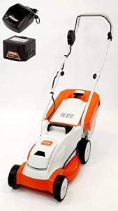 Stihl 63112000010 RMA 235 Set tondeuse à gazon avec batterie AK20 et chargeur AL101