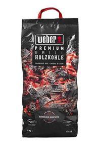 Weber 17829 Premium Charbon de bois 5 kg