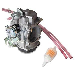 Weiqu Carburateur de moto compatible avec Harlery Davidson Road King CV40 XL883 Pièce de rechange pour désherbage de jardin 40 mm
