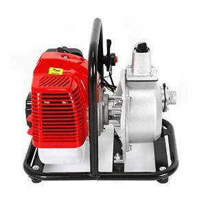 Xian 1.7HP 1″ Pompe à Eau a Essence Jardin Thermique Motorpompe 2 Temps 15000 L/h