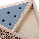 XiangXin Encourage Les Abeilles et Autres Insectes à accrocher en Toute sécurité Un abri pour Abeilles, Une boîte à Insectes, Une Maison à Insectes, Une Utilisation à l'extérieur pour la
