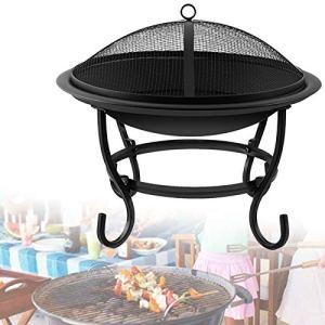 0℃ Outdoor Barbecue au Charbon de Bois, Barbecue en Acier, Sécurité, Résistant, Réunion de Famille, Propre, Barbecue Grill pour Jardin Extérieur Camping et Pique Nique,Style 2
