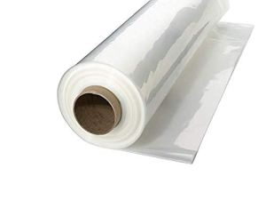 A & A Vert Store Serre Plastique 4Year 6mil résistant aux UV Effacer Film de polyéthylène 14′ x 25′ Claire