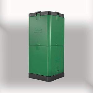 Aerobin Composteur à chaud 200 l Créer un compost bio riche