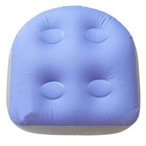 AmandaJ Coussin de spa gonflable Siesta avec ventouses