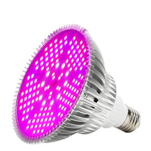 Ampoule LED de Croissance à Spectre Complet 100W LED Lumière de Croissance 150 LED Lampe pour Plante E27 Plante D'intérieur élèvent des Fleurs de Lampe Croissant Ampoules de Lumières pour Serre Jardin