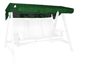 Angerer 9908/01 Toit pour balancelle Vert 193 x 130 cm