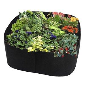 ASSR Jardinière surélevée extra large de 90 x 90 cm pour légumes, fleurs, herbes