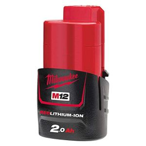 Batterie MILWAUKEE 12 V et 2 Ah Red Li-Ion M12B2-4932430064