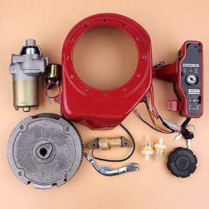 Beixi Temps Démarreur électrique Flywheel commutateur de Charge Kit Moteur Coil for Honda GX160 GX200 Chinois 168F 5.5HP 4-Stroke gaz Générateur Moteur