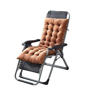 Bidet Balancelle Rocking Chair épais Coussin Souple Coussin inclinable Coussins Longchair Chaise Longue Banc Coussin Jardin for Voyage de Vacances Jardin Intérieur Extérieur