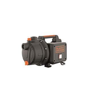 Black+Decker BXGP600PE Pompe Auto-Amorçante (600 W, Débit max 3.100 l/h, Hauteur d'Élévation Max. 35m)