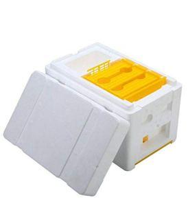 Boîte de pollinisation en mousse pour apiculture (Blanc)