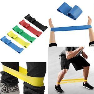 Chennie Résistance Bande Élastique Exercice Ceinture de Yoga en Caoutchouc Fitness Formation Stretch Sport