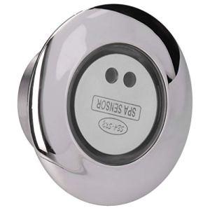 CHICIRIS Interrupteur de Commande de Spa, capteur de Spa 12 V, avec Fonction de Mise Hors Tension Automatique, Durable en Acier Inoxydable de Haute qualité et résistant à l'usure Piscines de Spa