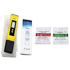 Chutoral Canghai Stylo de test de pH pour l'eau potable, stylo de test numérique de pH pour test d'acidité et d'alcalinité (ph mètre), pour l'eau potable et piscine