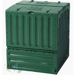 Composteur en polystyrène de jardin 400 litres 70 x 70 x 83 cm. Facile à utiliser et économique.