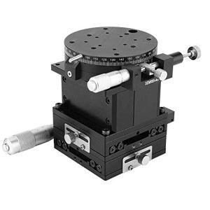 DXX-HR Manuel micrométrique Plate-forme parage de guidage linéaire étape Roulement Tuning Table coulissante 80mm