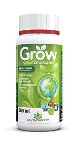 Easy Hydroponics – Nutriments – Grow 500 ml (croissance) – Engrais complet pour cultures hydroponiques