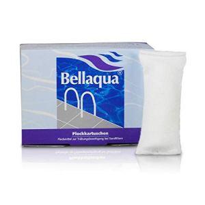 Elecsa Bellaqua 749 Lot de 8 cartouches de floculant pour piscine 1kg