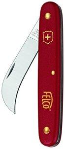 FELCO 11540107 11540107-3.90 60 cuchillo poda e injerto ligero, Rouge, 18,6 x 9,6 x 1,6 cm