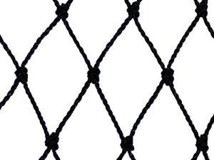 Filet de volière – Maille de 60mm Noir 12.5m x 20m