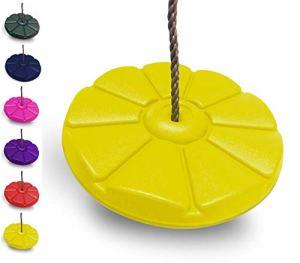 hiks enfants/enfant Corde ronde Balançoire (Disponible en bleu, jaune, rouge & vert)…