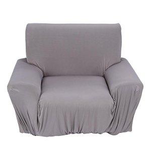 Ichiias Élastique Durable Doux(Gray, Single Seat)