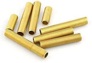 JYSLI Twist 10pcs / lot en Laiton Lampe Tooth Tube M10 Vis Tuyau en Laiton de Tube avec vis Accessoire éclairage (Taille: 45 mm) Percer (Size : 70mm)