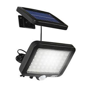 Lampe solaire extérieure, Jorft 56LED Lampe solaire étanche avec lampe de sécurité à détecteur de mouvement pour jardin, escalier, extérieur, terrasse, nouvelle version de terrasse