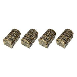 Lecimo 1: 6 1/6 boîte de trésor de rapport pour la décoration de caractère d'action de pièce d'oro 4pcs