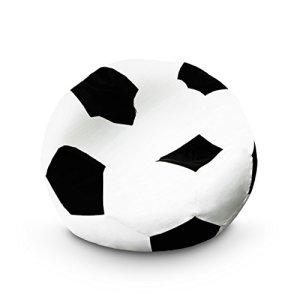 Lumaland Pouf de Football Fauteuil de la Ligne Confort Petit