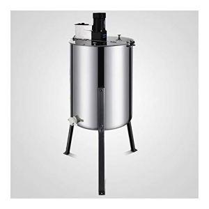 LXH-SH Honigextraktor Électrique Grand Four 4 Cadre en Acier Inoxydable électrique extracteur de Miel Extraction du Miel