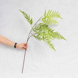 meixiang Fougères Simulées, Faux Feuillage De Plante, Ornements De Décoration De Salon Vert