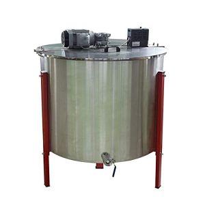 MINGMIN-DZ Durable Apiculture Outils 24 châssis d'exportation en Acier Inoxydable électrique Honey Agitateur Automatique Centrifugeuse Seaux Shaker