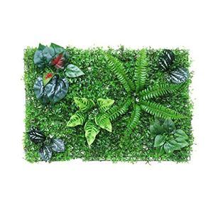Mur De Fond De Plante Verte Artificielle, Décoration De Feuille De Vigne De Clôture Artificielle, Panneau De Clôture De Plante Artificielle De 40 60 CM, Écran De Clôture De Protection UV De Jardin