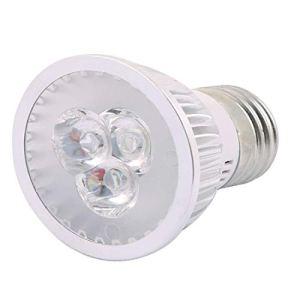 New Lon0167 AC 86-265V En vedette E27 Grow efficacité fiable 3 LED Veg Lampe de plante succulente d'intérieur rouge bleu 3W(id:e06 19 09 f99)