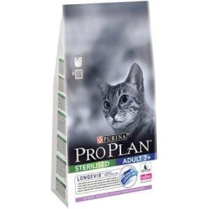 PRO PLAN – Sterilised Senior – Longevis – Riche en Dinde – 1,5 kg – Croquettes pour chat senior stérilisé