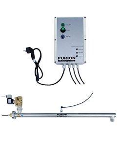 PURION 2500 90W UV-unité avec électrovanne jusqu'à 4.000 l/h stérilisateur avec Commande de vanne