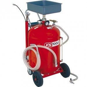 Récupérateur d'huile par gravité et aspiration 90 litres KSTOOLS