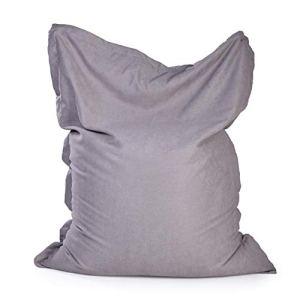 Sac de haricots bazar Sac de haricots Bazar lambris de sacs de haricots classiques, de haricots résistants à l'eau de plein air intérieur Sac de haricots extérieurs ( Color : Gray , Size : One size )