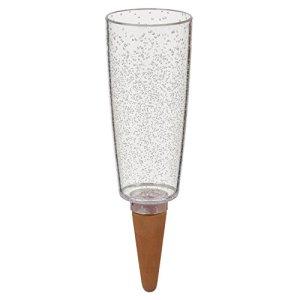 Scheurich Copa Distributeur d'eau en Plastique avec cône d'argile XXL 13 x 13 x 37 cm Transparent